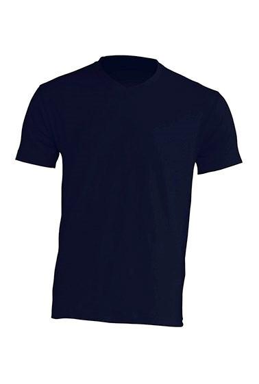 Мужская футболка JHK URBAN V-NECK цвет темно-синий (NY)