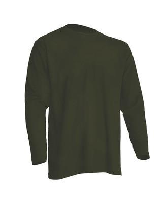 Мужская футболка JHK REGULAR T-SHIRT LS цвет хаки (KH)