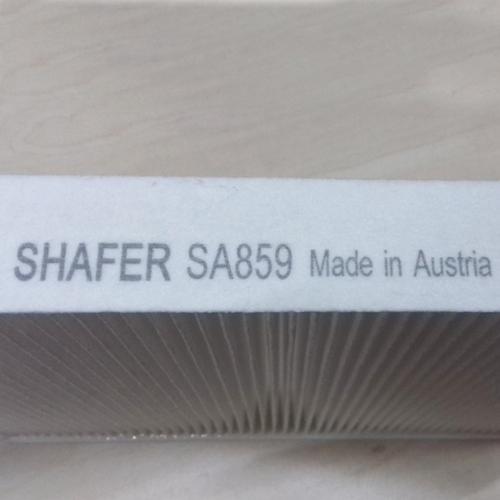 Салонный фильтр Mercedes Sprinter Мерседес Спринтер LT (1995-) с пластиковой рамкой , A6020940404. SHAFER