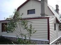 Металлический сайдинг блок-хаус.