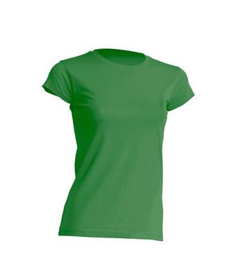 Женская футболка JHK TSRL 150 цвет зеленый (KG)