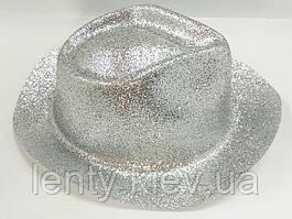 Карнавальні капелюхи (підліткові) Вечірка Блискітки Срібло