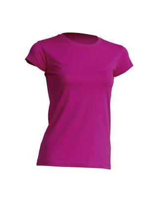 Женская футболка JHK TSRL 150 цвет светло-малиновый (FU)