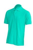 Мужская футболка-поло JHK POLO REGULAR MAN цвет светло-зеленый (MG), фото 2