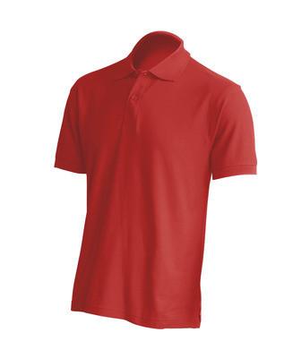 Мужская футболка-поло JHK POLO REGULAR MAN цвет красный (WR)