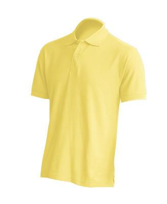 Мужская футболка-поло JHK POLO REGULAR MAN цвет светло-желтый (LY)
