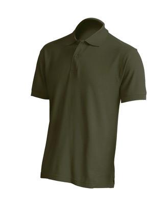 Мужская футболка-поло JHK POLO REGULAR MAN цвет хаки (KH)