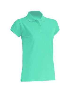 Женская футболка-поло JHK POLO REGULAR LADY цвет светло-зеленый (MG)