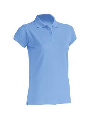 Женская футболка-поло JHK POLO REGULAR LADY цвет голубой (SK)