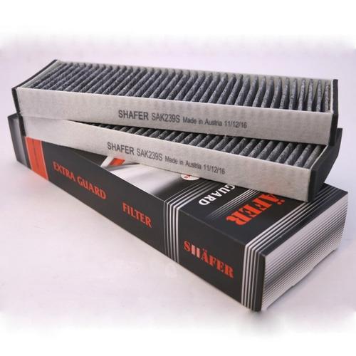 Салонный фильтр Mercedes Sprinter Мерседес Спринтер LT (1995 г.в.-) Угольный с пластиковой рамкой / 9018300418. SHAFER Австрия