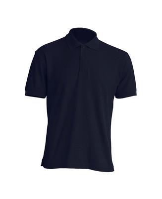 Мужская футболка-поло JHK POLO WORKER 210 цвет темно-синий (NY)