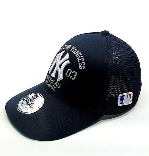 Бейсболка FULL CAP NEW YORK т.синий+белый