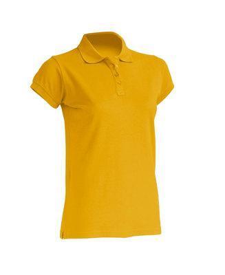 Женская футболка-поло JHK POLO REGULAR LADY цвет горчичный (MU)