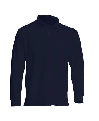 Мужская футболка-поло POLO REGULAR MAN LS цвет темно-синий (NY)