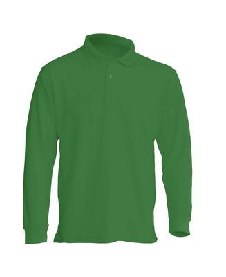 Мужская футболка-поло POLO REGULAR MAN LS цвет зеленый (KG)