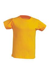 Детская футболка JHK TSRK 150, цвет горчичный (MU)