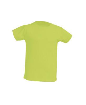 Детская футболка JHK KID T-SHIRT цвет светло-салатовый (PT)