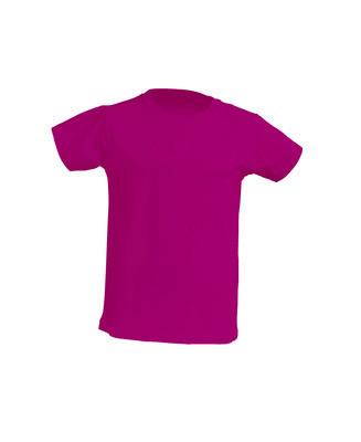 Детская футболка JHK KID T-SHIRT цвет светло-малиновый (FU)
