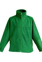 Детская флисовая куртка JHK FLRK 300, цвет зеленый (KG)