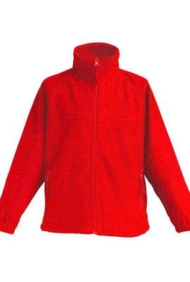 Детская флисовая куртка JHK POLAR FLEECE KID цвет красный (RD)