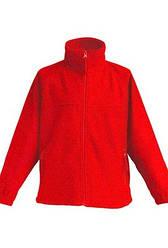 Детская флисовая куртка JHK FLRK 300, цвет красный (RD)