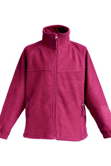 Детская флисовая куртка JHK POLAR FLEECE KID цвет малиновый (RP)