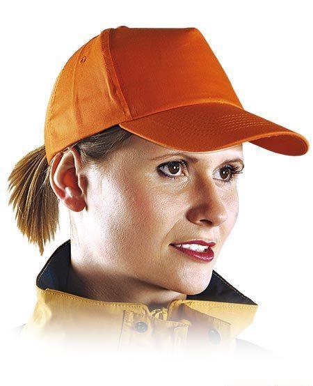 Кепка унисекс PROMO цвет оранжевый