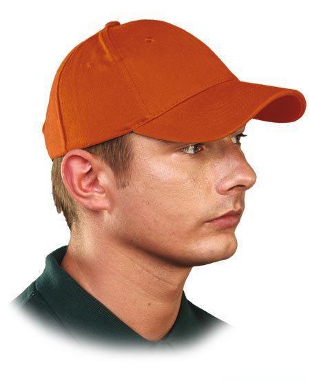 Кепка унисекс LUX цвет оранжевый