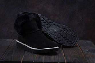 Ботинки Best Vak УГ 44 -01 (Ugg) (зима, женские, замша, черный)