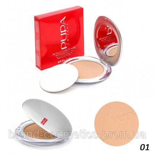 Пудра Pupa Silk Touch Compact Powder (поштучно №1)