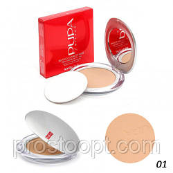 Пудра Pupa Silk Touch Compact Powder (поштучно №1)