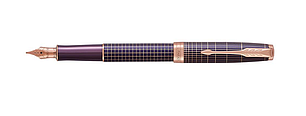 Ручка перьевая Parker ONNET F PREMIUM PURPLE PGT, фото 2