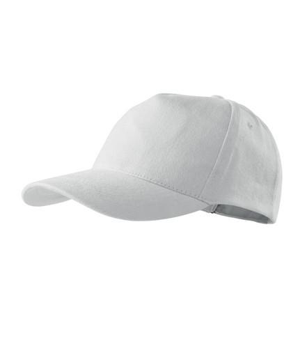 Кепка пятиклинка ADLER 5P цвет белый (00)