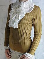 Джемпер с рубашкой 90981 ОПТ, фото 1