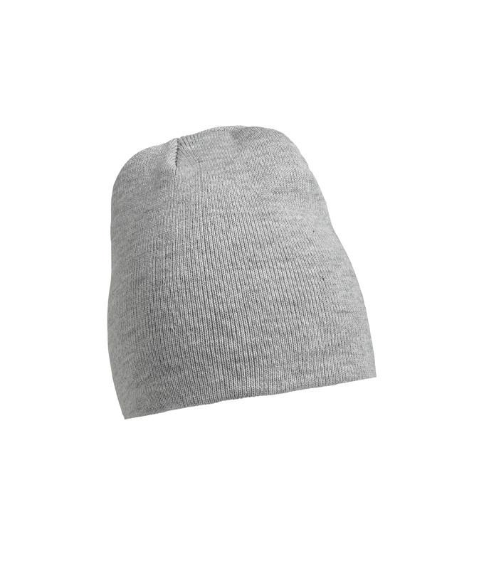 Шапка унисекс BerryTex цвет светло-серый меланж (AS)