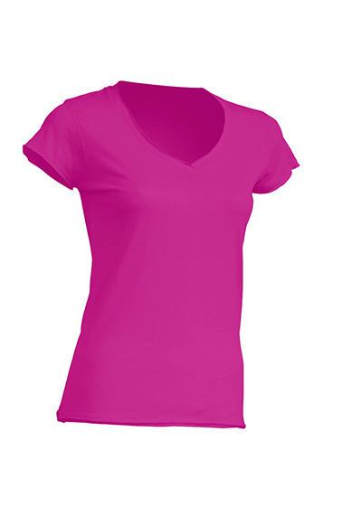 Женская футболка JHK SICILIA цвет светло-малиновый (FU)