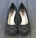 Женские замшевые туфли Fabio Monelli S369-24-RO55AK BL 35 23 см, фото 2