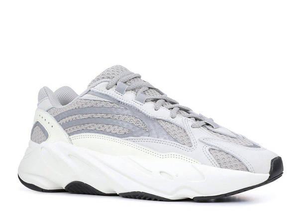 Кроссовки Мужские Adidas YEEZY 700 BOOST Grey/White, фото 2