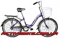 """Складной велосипед Ardis NEW FOLD 24"""" с корзиной, фото 1"""