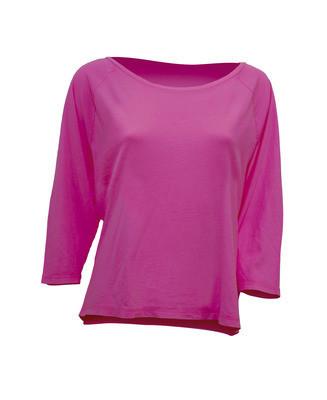 Женская футболка JHK MALDIVAS цвет светло-малиновый (FU)