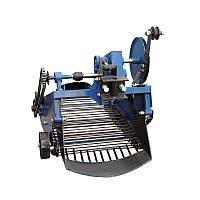 Картоплекопач вібраційний транспортерні під мототрактор з гідравлікою (КК11)