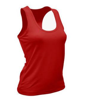 Жіноча еластична майка JHK SPORT ARUBA LADY колір червоний (RD)