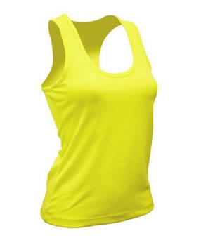 Жіноча еластична майка JHK SPORT ARUBA LADY колір жовтий (SYF)