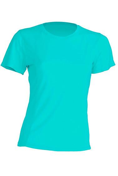 Женская футболка JHK SPORTLADY цвет бирюзовый (TU)
