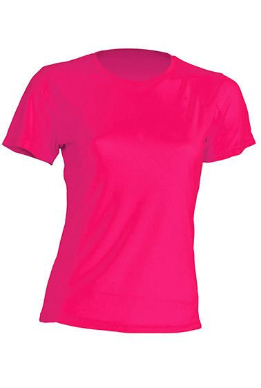 Женская футболка JHK SPORTLADY цвет светло-малиновый (FUF)
