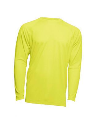 Мужская эластичная футболка с длинными рукавами JHK SPORT T-SHIRT MAN LS желтый (SYF)