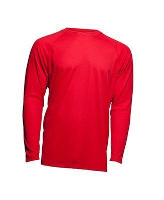 Мужская эластичная футболка с длинными рукавами JHK SPORT T-SHIRT MAN LS цвет красный (RD)