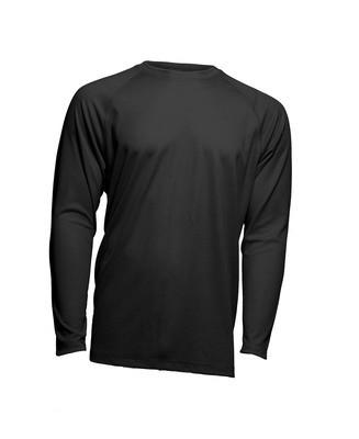 Мужская эластичная футболка с длинными рукавами JHK SPORT T-SHIRT MAN LS черный (BK)