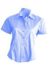 Рубашка женская с коротким рукавом JHK SHLOXFSS цвет голубой (SK)