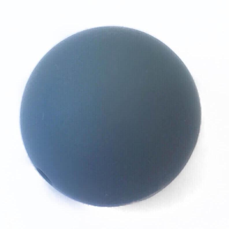 22 мм (темно серый) круглая
